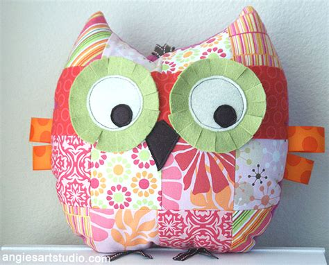 Patchwork Owl - patchwork owl pattern images