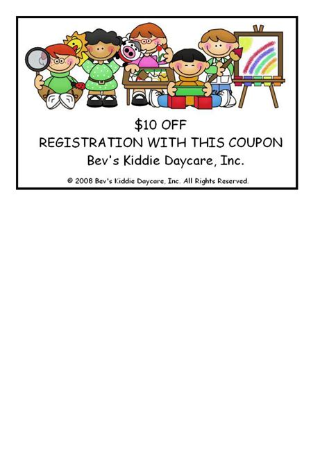baby sitting coupon template free download download free