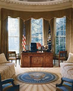 White House Oval Office oval office history