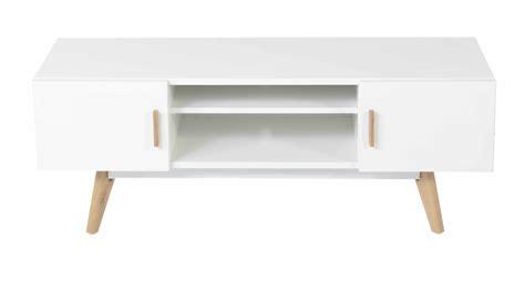 Meuble TV blanc style scandinave   Mykaz