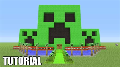 how do you make a house minecraft tutorial how to make a creeper survival house