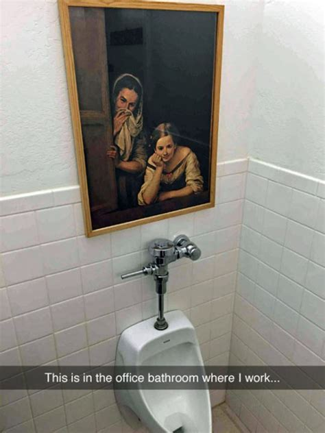 funny bathrooms intimidating painting the meta picture