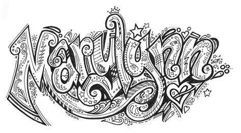 doodle for my name organized doodles august 2010