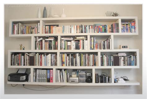 Mounted Bookshelves Http Www Bebarang Com Creative Wall Mounted Bookshelf