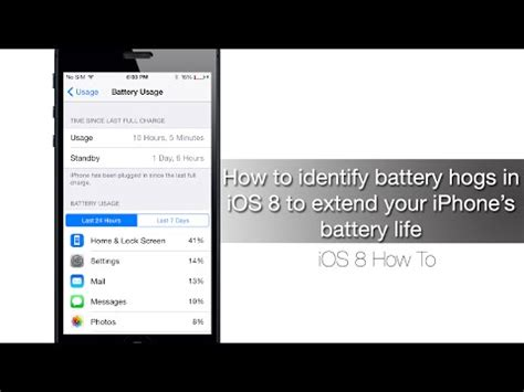 how to extend your laptop battery life youtube how to identify battery hogs in ios 8 to extend your