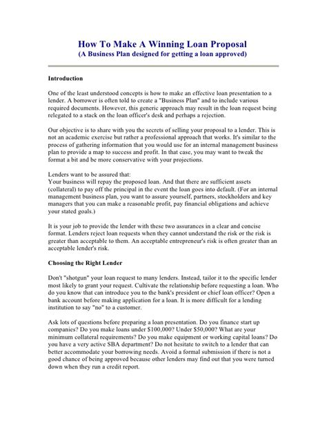 Mortgage Loan Officer Introduction Letter business plan cover letter for a loan get tips for