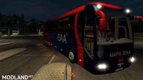 download game euro truck simulator 2 bus mod indonesia eaa bus v 4 1 mod for ets 2