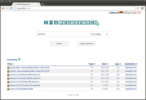 Us Search Search Nzb Metasearch By Pillone