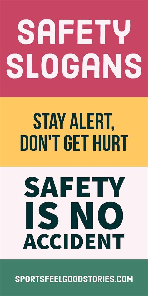 the 25 best ideas about safety slogans on