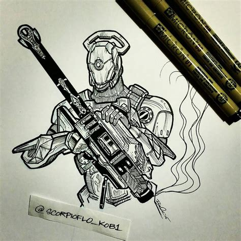 locked and loaded by koboneart on deviantart