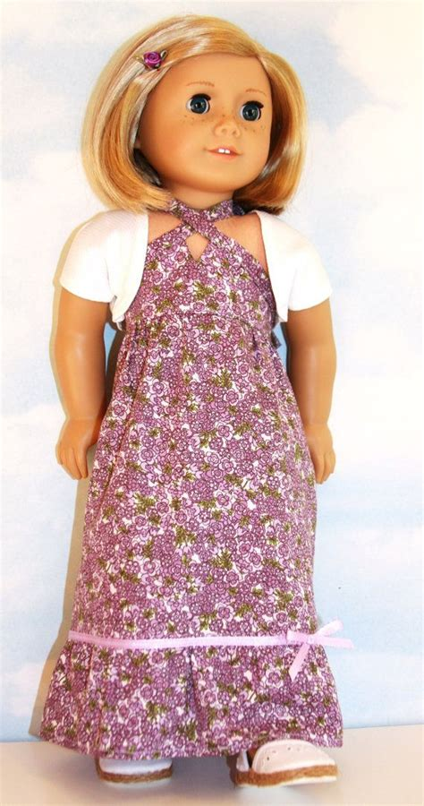Doll Maxi 1000 images about american doll dresses maxi halter on