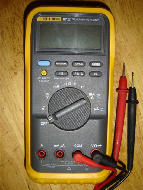 Multitester Fluke 87 some questions about buying a used fluke 87 iii v page 1