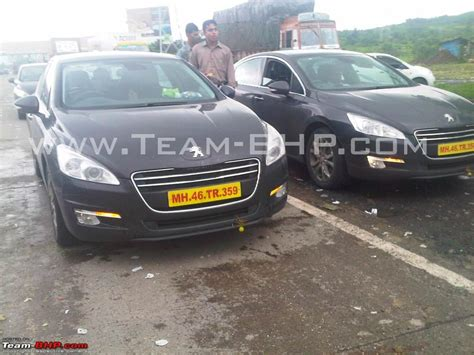 peugeot cars in india peugeot 207 and 508 caught testing on the expressway