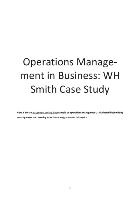 Assignment 1 Mba 5102 Changing Times Business In The 21st Century by Operations Management In Business Assignment Sle