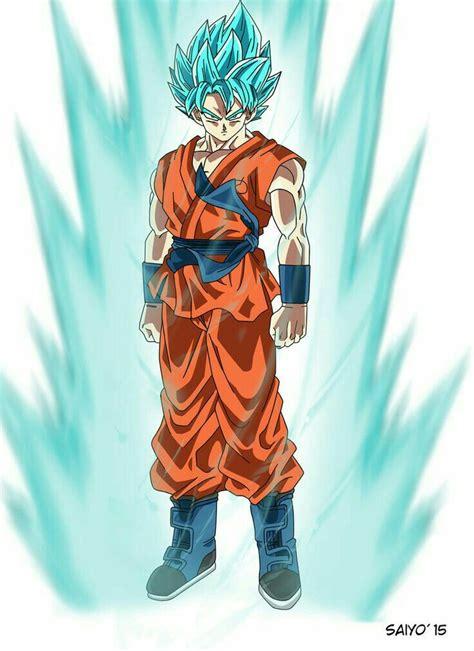 imagenes de goku god blue dragonball super goku super saiyajin god 2 dragon ball