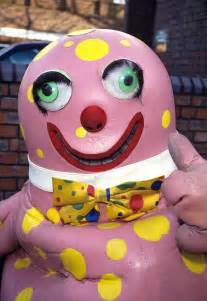 Mr blobby cake ideas and designs