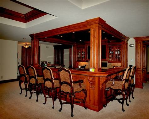 Timber Home Bar Luxury Custom Bars By Timber Ridge Properties Home Bar