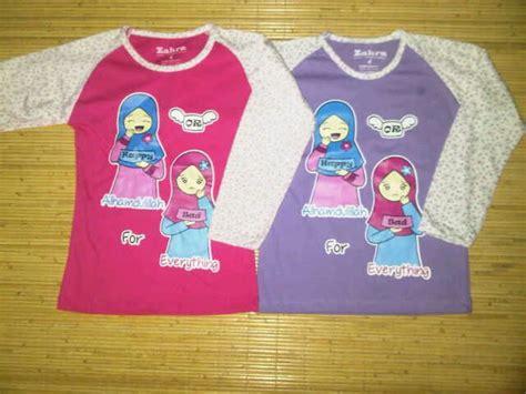 Kaos Zahra 3 gudang grosir baju anak muslim grosir baju anak branded baju anak muslim baju kaos anak