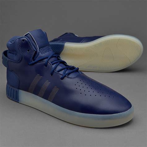 sepatu sneakers adidas originals tubular invader blue