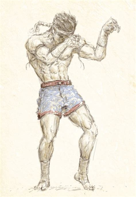 muay thai by kimsiang on deviantart