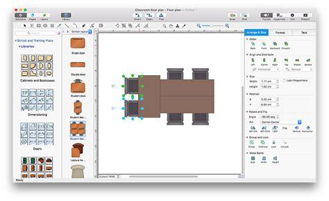 creating professional floor plan conceptdraw helpdesk creating a classroom floor plan conceptdraw helpdesk