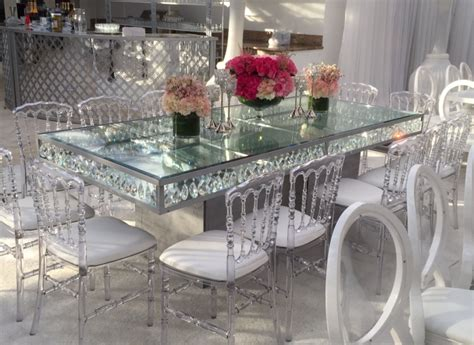 Square Dining Room Tables For 8 dining tables palace party rental