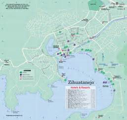 Ixtapa Mexico Map by Zihuatanejo Mexico Map