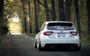 Subaru Wrx Wallpaper Subaru Impreza Wrx Sti Stance White Subaru Impreza Hd