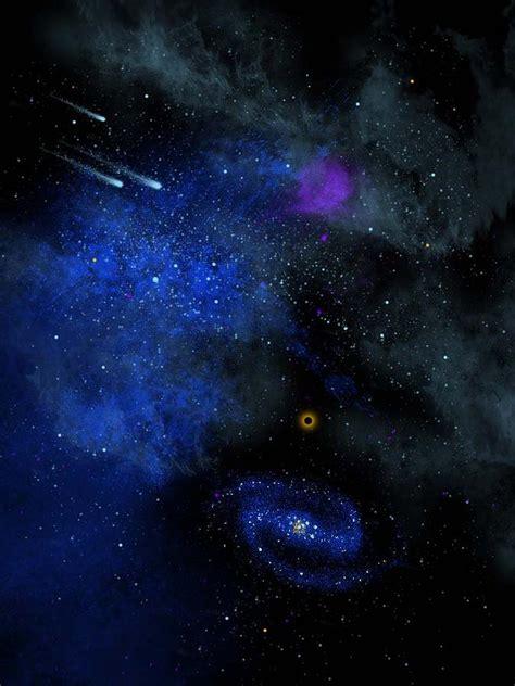 Wonders Of The Universe Mural Painting By Frank Wilson