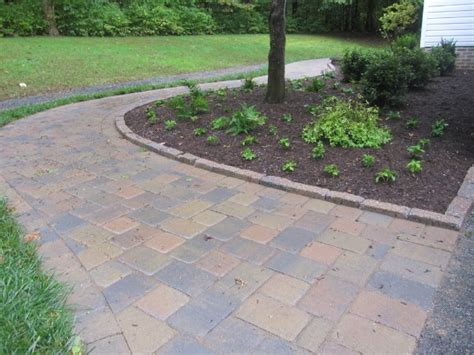 paver walkway curbstone edging ciminelli s landscape