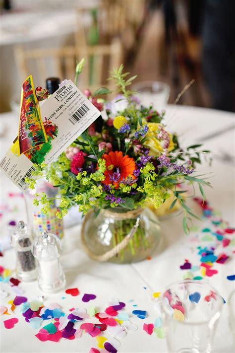 best 25 rainbow wedding centerpieces ideas on