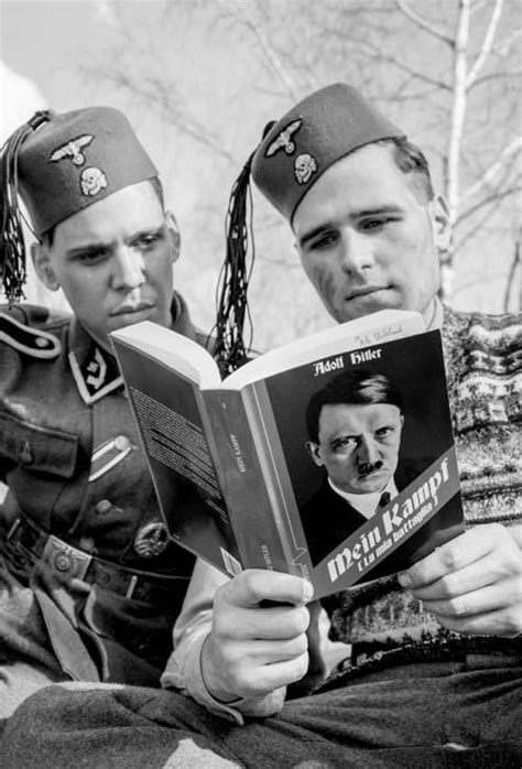 waffen ss la guardia 8476308442 world war ii allavanguardia croatian waffen ss are reading