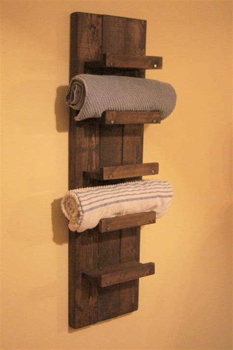 Wooden Shelves For Bathroom Best 20 Towel Shelf Ideas On