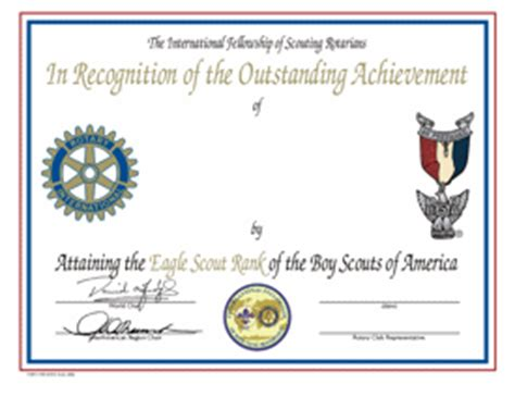 scout certificate templates eagle scout award certificate template pictures to pin on