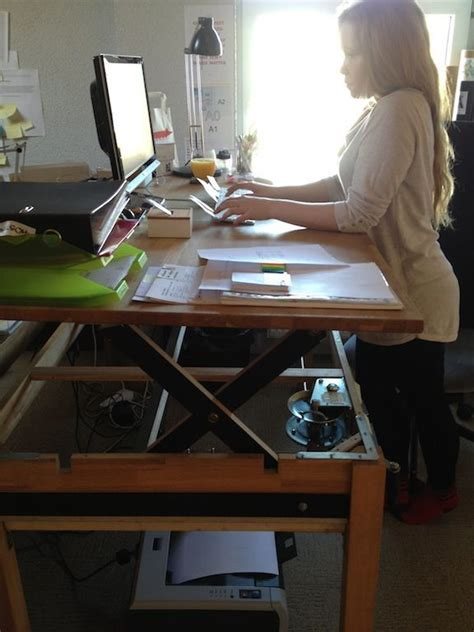 best 25 stand up desk ideas on standing desks