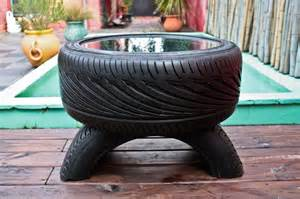 Car Tires Recycling How To Recycle Glass Top Coffee Table From Used Car Tires