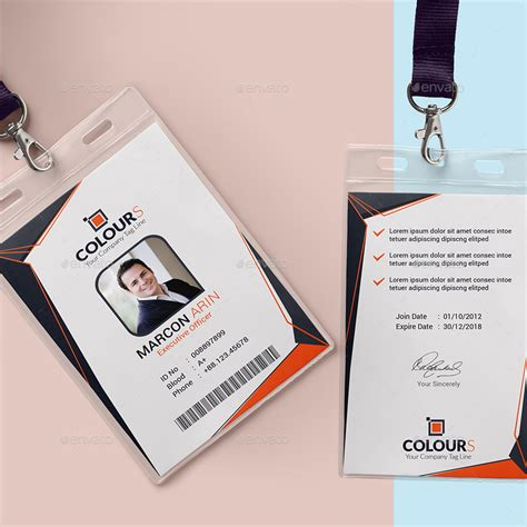 Id Card Haji Polos office id card by sucharu neal graphicriver