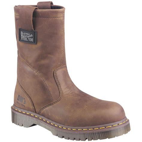 mens dr marten boots s dr martens 10 quot volcano steel toe wellington boots
