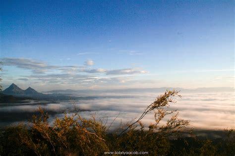 Karpet Gunung pendakian gunung pulut bukit di atas awan www sobriyaacob