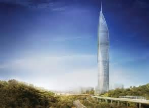 Modern Home Design Inspiration Landmark Tower In Seoul Is Super Green Mustafa Abadan