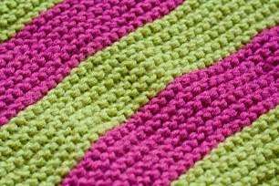comment tricoter une couverture en