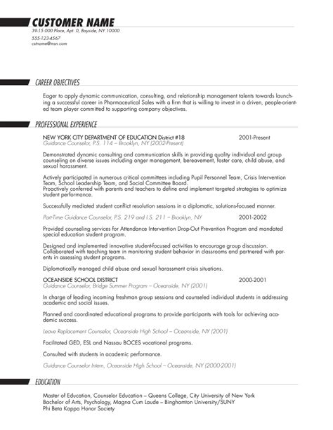 Resume B by Sle Resume B