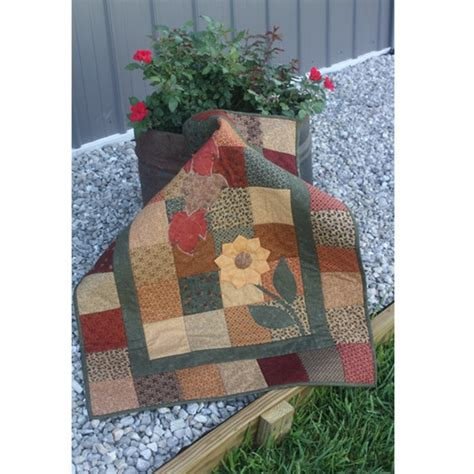 signs of fall by rooster pieced patterns