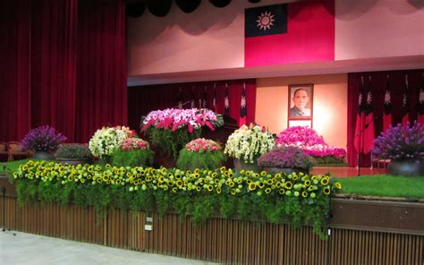 arreglo floral para podium estudiando agricultura en taiw 225 n arreglos florales en