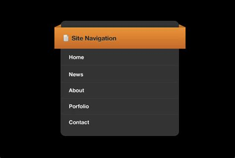 design menu in photoshop 20 excellent photoshop navigation and button tutorials