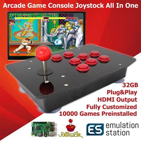 raspberry pi game console raspberry pi arcade game retro console joystick all in one
