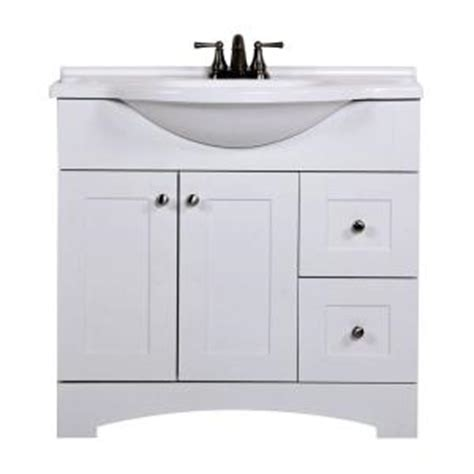 St Paul Bathroom Vanity St Paul Mar Sink Vanity With Composite Countertop At Homedepot Vanities Bathroom Furniture