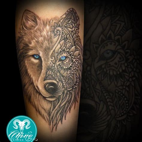 wolf mandala tattoo best 25 wolf ideas on wolf
