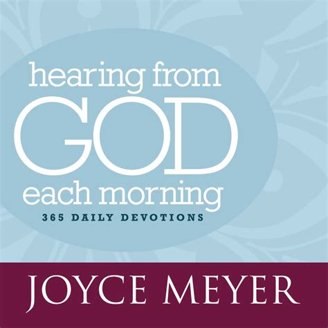 a god time for 365 daily devotions books hearing from god each morning audiobook by joyce