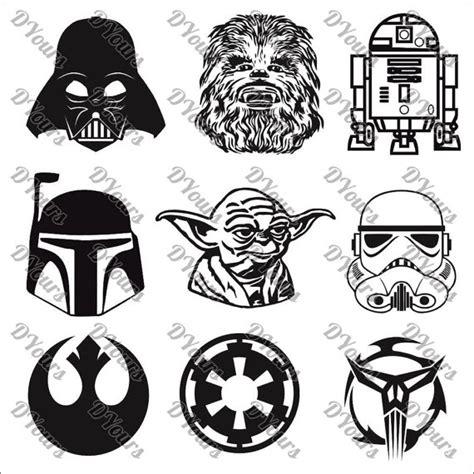 imagenes star wars vector star wars personajes 9 modelos vector colecci 243 n de